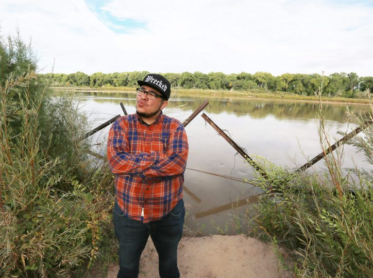 StormMiguel Florez, 2018 NALAC Fund for the Arts Grantee