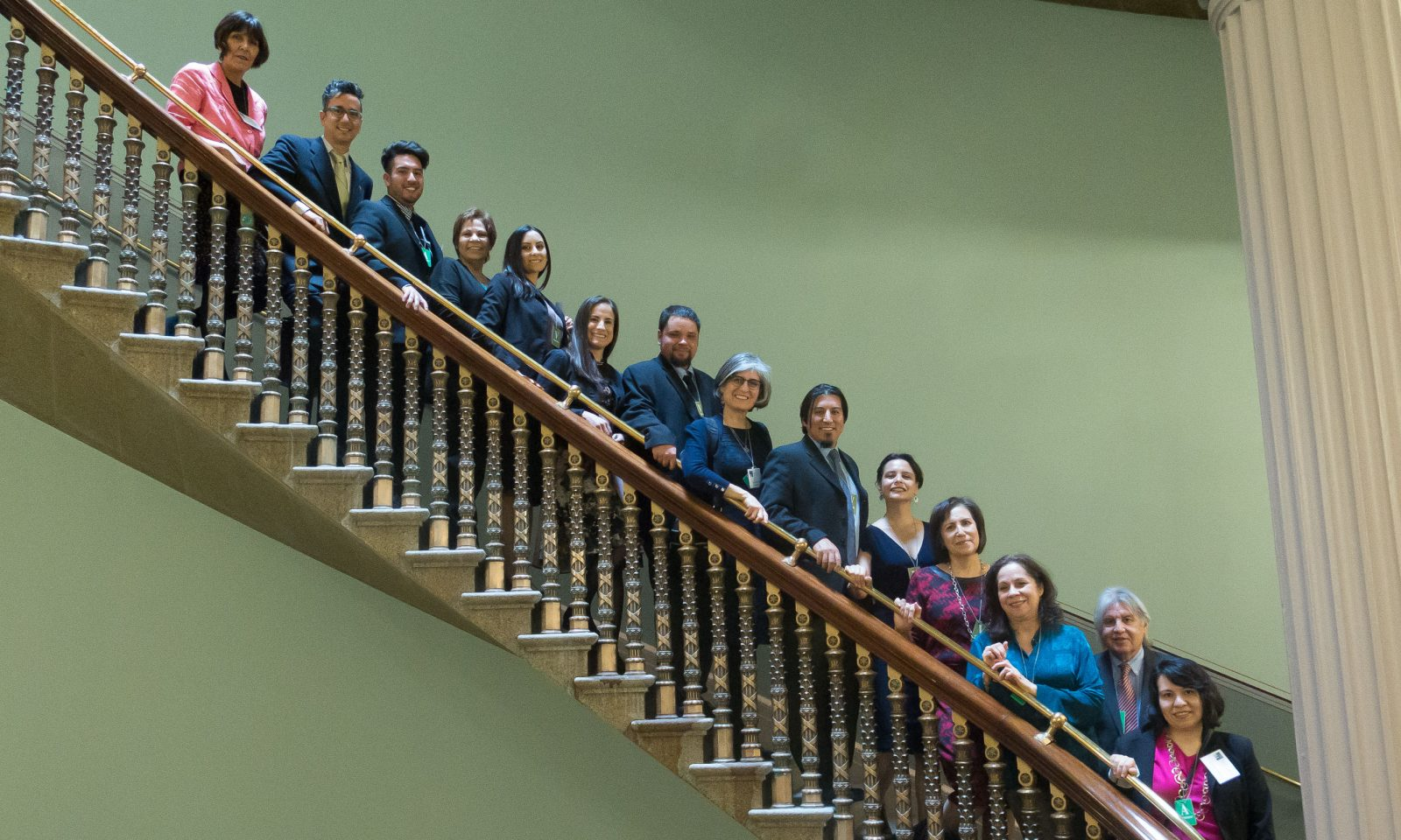 2015 ALI Fellows at the White House Eisenhower Administration Office